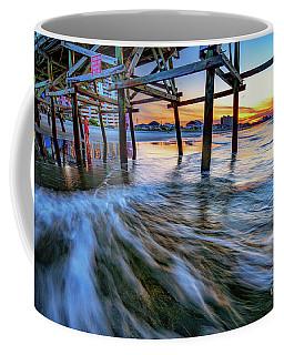 Under Cherry Grove Pier 2 Coffee Mug