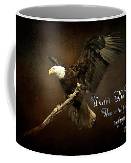 Under His Wings Coffee Mug