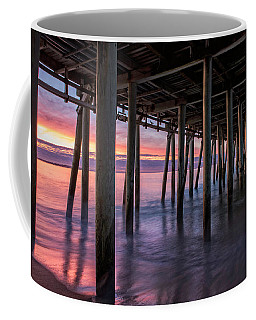 Under Old Orchard Pier Coffee Mug
