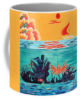Bright Coral Reef Coffee Mug