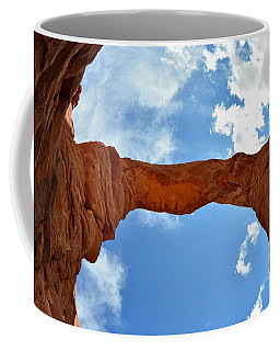 Under The Arch - Arches National Park Coffee Mug