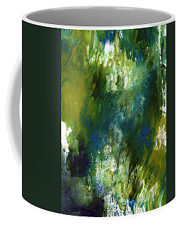 Under The Canopy- Abstract Art By Linda Woods Coffee Mug