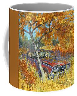 Under The Chinese Elm Tree Coffee Mug