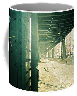 Under The Elevated Railway Coffee Mug