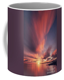 Under The Flaming Skies Coffee Mug