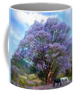 Under The Jacaranda Coffee Mug