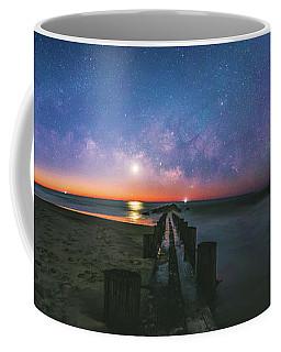 Under The Milky Way At Morris Island Coffee Mug by Robert Loe