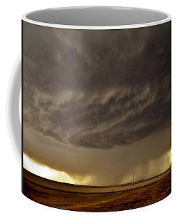 Coffee Mug featuring the photograph Under The Mothership by Ed Sweeney