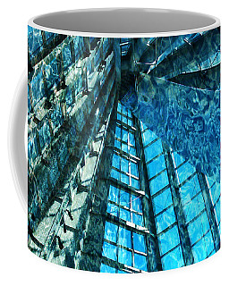 Under The Sea Dwelling Abstract Coffee Mug