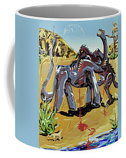 Coffee Mug featuring the painting Under The Sun by Ryan Demaree