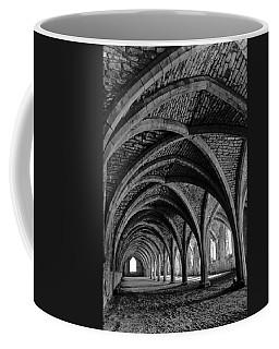 Under The Vaults. Vertical. Coffee Mug