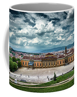 The Meridian Palace And Cityscape In Florence, Italy Coffee Mug