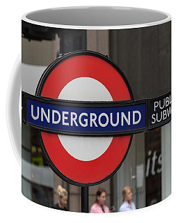 Underground Sign London Coffee Mug