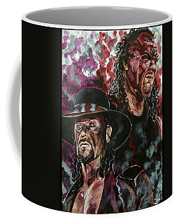 Undertaker And Kane Coffee Mug