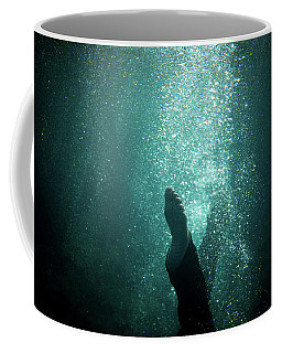 Underwater Foot Coffee Mug