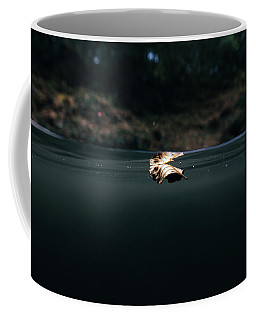 Underwater Leaf Coffee Mug