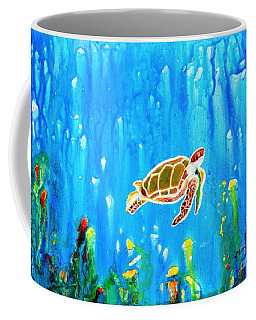 Underwater Magic 5-happy Turtle Coffee Mug