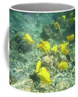 Underwater Yellow Tang Coffee Mug