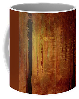 Coffee Mug featuring the painting Underwood by Valerie Anne Kelly