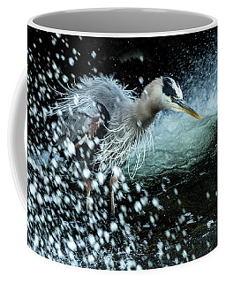 Coffee Mug featuring the photograph Unfazed Focus by Everet Regal