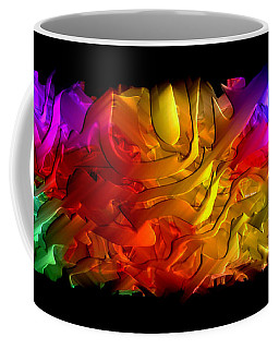 Coffee Mug featuring the digital art Unfolding Dream by Rafael Salazar