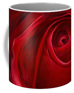 Unfurling Beauty II Coffee Mug