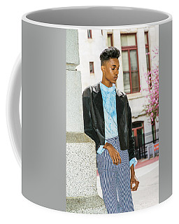 Coffee Mug featuring the photograph Unhappy School Boy  15042639 by Alexander Image