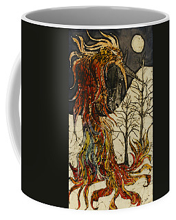 Unicorn And Phoenix Coffee Mug