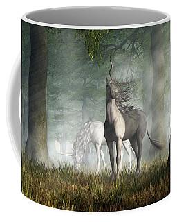 Unicorn Coffee Mug by Daniel Eskridge