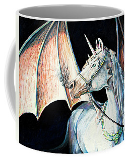 Unicorn Dragon Coffee Mug