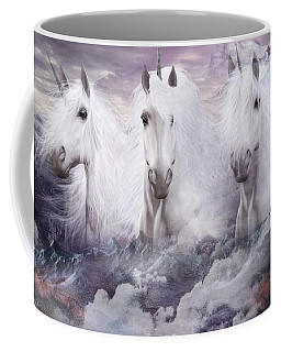Unicorns Of The Mountains Coffee Mug