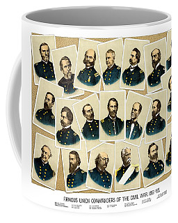 Union Commanders Of The Civil War Coffee Mug