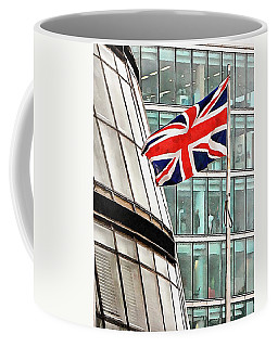 Union Jack Outside City Hall London Coffee Mug