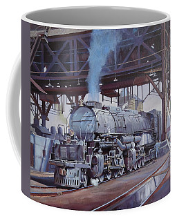 Union Pacific Big Boy Coffee Mug by Mike  Jeffries