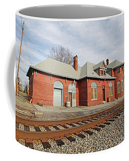Union, Sc Southern Railway Station 2 Coffee Mug