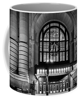Coffee Mug featuring the photograph Union Station Holiday by Dennis Hedberg