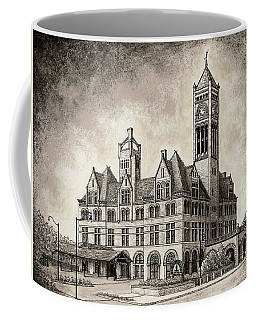 Union Station Mixed Media Coffee Mug
