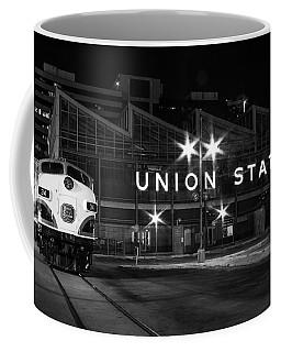 Union Station Night Glow Coffee Mug
