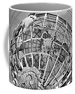 Unisphere In Black And White Coffee Mug