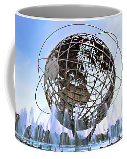 Unisphere With Fountains Coffee Mug