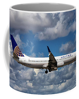 United Airlines Boeing 737 Ng Coffee Mug