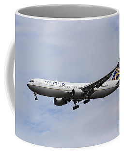 United Airlines Boeing 767 Coffee Mug