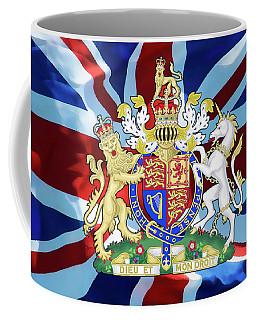 United Kingdom Coat Of Arms Coffee Mug