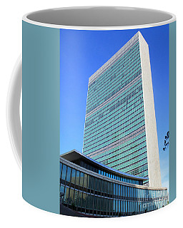 Coffee Mug featuring the photograph United Nations 1 by Randall Weidner