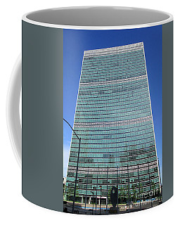Coffee Mug featuring the photograph United Nations 3 by Randall Weidner