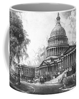 United States Capitol Building Coffee Mug