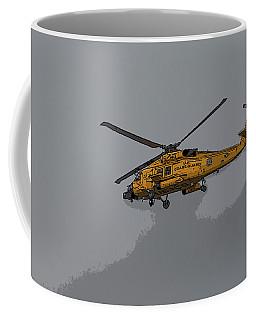 United States Coast Guard Helicopter Coffee Mug