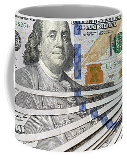 United States Usd 100 Note Closeup Coffee Mug