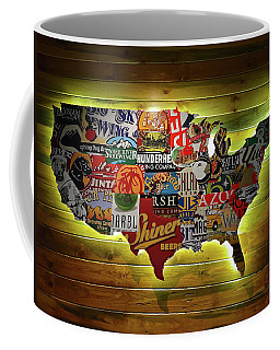 United States Wall Art Coffee Mug