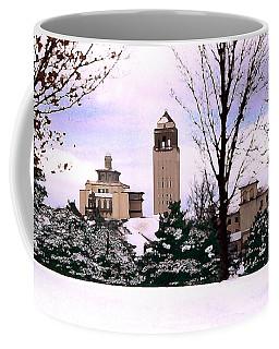Coffee Mug featuring the photograph Unity Village by Steve Karol